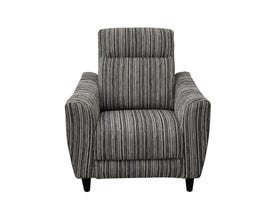 Vogue Ava Series Fabric Power Reclining Chair in Grey PX2216