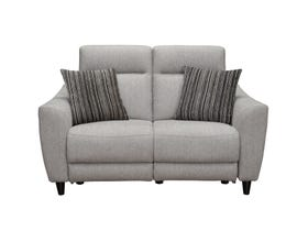Vogue Ava Series Power Reclining Loveseat in Grey PX2216