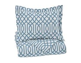 Signature Design by Ashley 2-Piece Twin Comforter Set in Aqua Q758031T