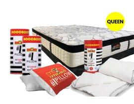 #1 Queen Size Pillows, Duvet and Mattress Kit