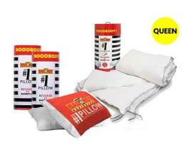 #1 Queen Size Pillows and Duvet Kit