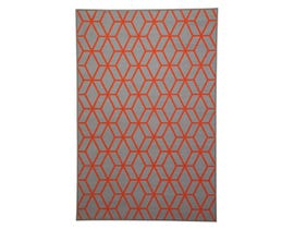 Signature Design by Ashley Medium Rug Rico Orange R331002