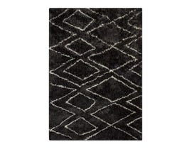 Signature Design by Ashley Large Rug Deryn Black White R400241