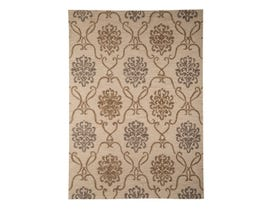 Signature Design by Ashley Large Rug Haidar Brown grey R400421
