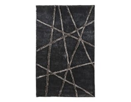 Signature Design by Ashley Large Rug Zorion Silver grey R400651