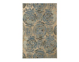 Signature Design by Ashley Large Rug Alazne Blue Ivory R400771