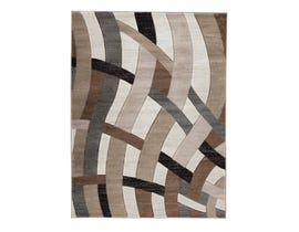 Signature Design by Ashley Jacinth Series Medium Rug in Brown R402922