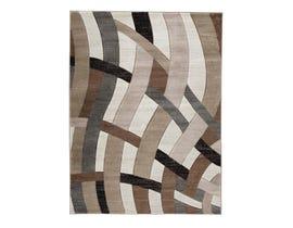 Signature Design by Ashley Jacinth Series Medium Rug in Brown R402922