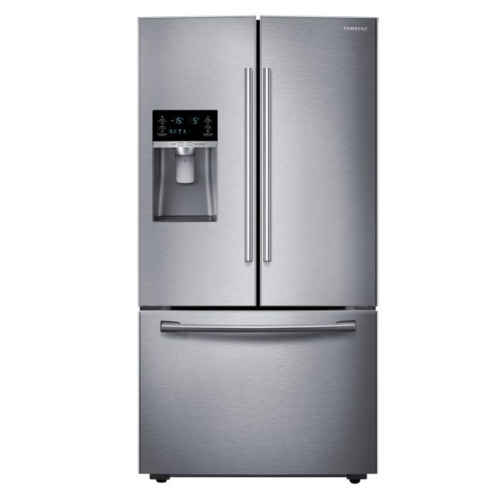Samsung 36 inch 22.5 cu. ft. French Door Refrigerator with Twin Cooling Plus in stainless steel RF23HCEDBSR