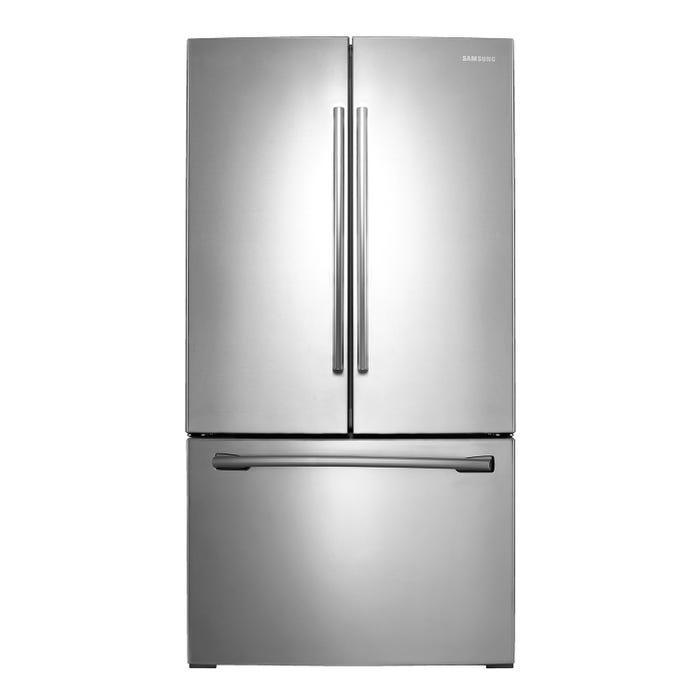 Samsung 36 inch 26 cu. ft. French Door Refrigerator in stainless steel RF26HFENDSR