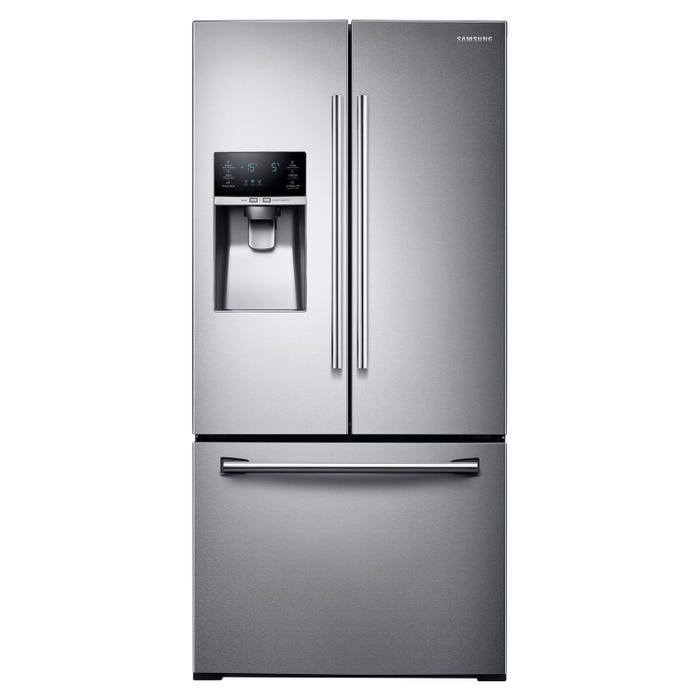 Samsung 33 inch 25.5 cu. ft. French Door Refrigerator with Twin Cooling Plus in stainless steel RF26J7500SR