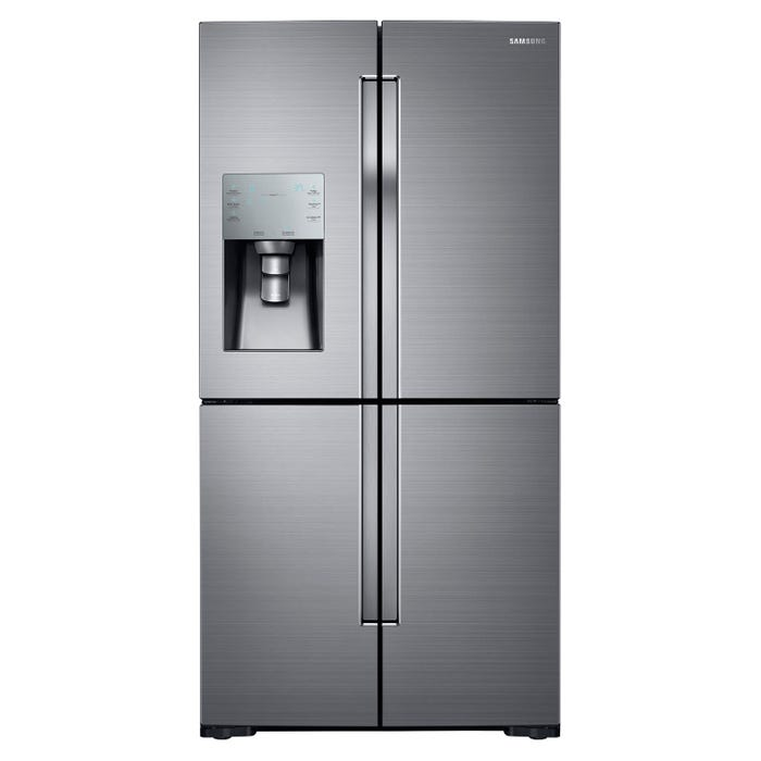 Samsung 36 inch 28 cu. ft. French Door Refrigerator with FlexZone in stainless steel RF28K9070SR