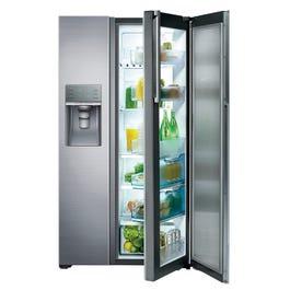 Side By Side Refrigerator Samsung Rh22h9010sr Lastmans Bad Boy