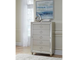 Global Furniture Riley Silver Chest