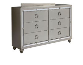 Global Furniture Riley Silver Dresser