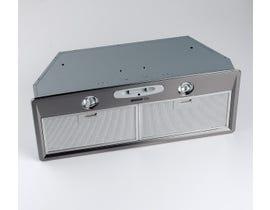 """Broan 27"""" 400 CFM Power Pack Internal Blower Range Hood in Stainless Steel RMP17004"""