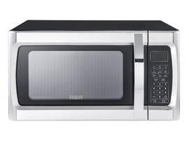 RCA 24 inch 1.1 cu. ft. Countertop Microwave in Stainless Steel RMW1178