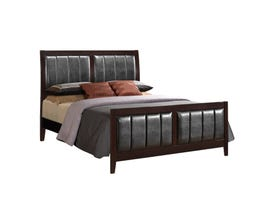 Global Furniture Rosa king bed antique black