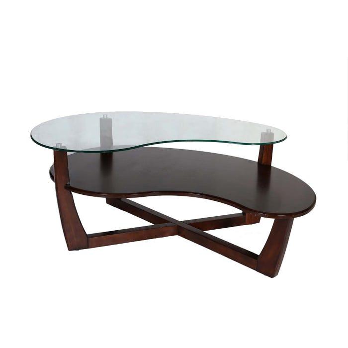 Rustique Brown Bean Coffee Table RR-1319C