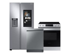 Samsung 3pc Appliance Package in Stainless Steel RS22T5561SR DW80R9950US NE63T8311SS