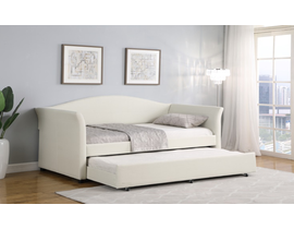 Rustique Day Bed with Twin Mattresses in Beige RSTQ-DB09