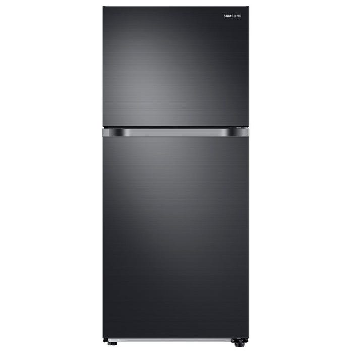 Samsung 29 inch 17.6 cu.ft. Top Mount Refrigerator in Black Stainless Steel RT18M6213SG