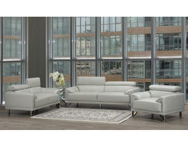 Layla Series 3- Piece Sofa Set in Light Grey S1012-13-LG
