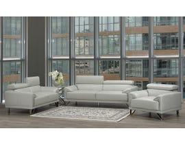 Layla Series 3pc Sofa Set in Light Grey S1012-13-LG