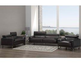 Layla Series 3- Piece Sofa Set in Dark Grey S1012-13