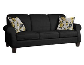 Décor-Rest Joey Sky Collection Fabric Sofa in Mellow Black/Forsyntia Yellow 2025