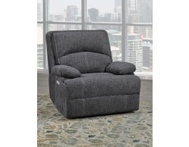Brassex Houston Collection Fabric Recliner in Grey SA2200