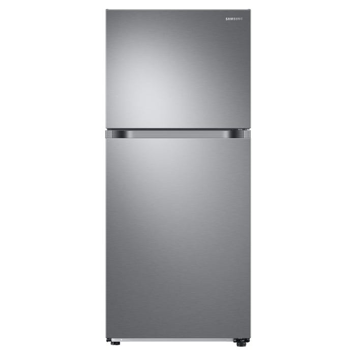 Samsung 29 inch 17.6 cu.ft. Top Mount Refrigerator in Stainless Steel RT18M6213SR