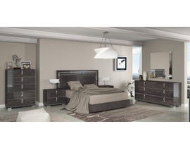 M.A.Z Sarah Alla Moda Series Bedroom Set in Grey 4900
