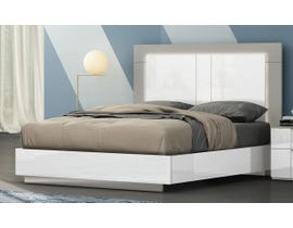 K Living Harvey Series Queen Bed in Grey and White SB114-QB