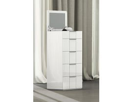 K Living Harvey Series Chest in Grey and White SB114-CH