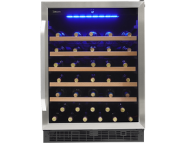 "Silhouette Stilton Series 24"" Single Zone Wine Cellar in Stainless Steel SWC057D1BSS"
