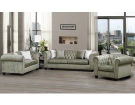 SBF Upholstery Mia 3pc Fabric Sofa Set in Mushroom/TP Mushroom 2525