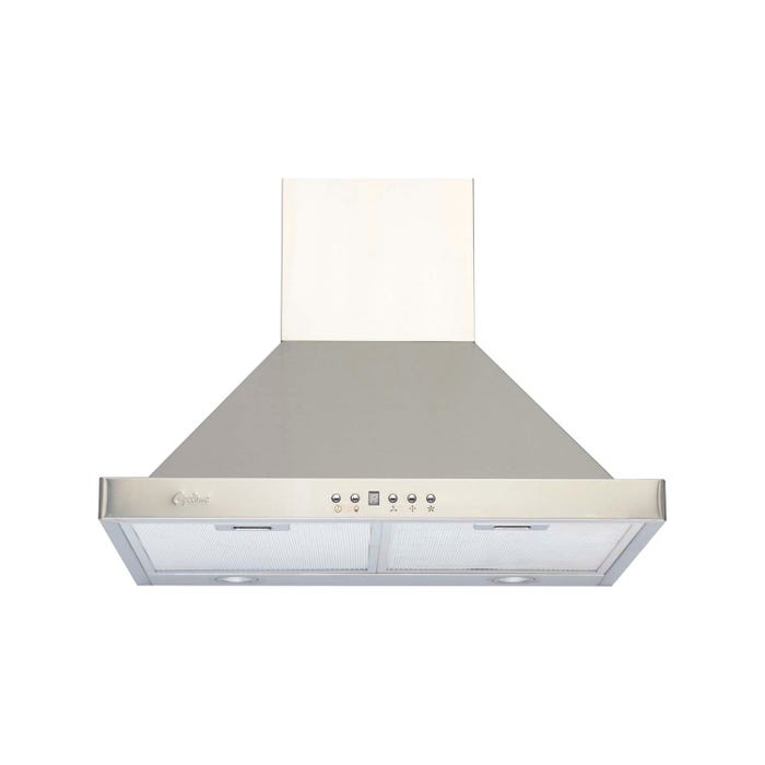 Cyclone 24 inch Vented 550 CFM  Canopy Hood Stainless Steel SC50024