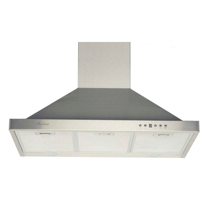 Cyclone 30 inch Vented 550 CFM  Canopy Hood Stainless Steel SC50030