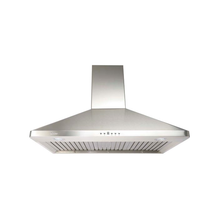 Cyclone 36 inch Vented 650 CFM  Canopy Hood Stainless Steel SCB71536