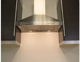 Cyclone 30 inch Vented 650 CFM  Canopy Hood Stainless Steel SCB71130