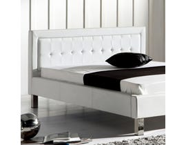Sinca Scherzo King Platform Bed in white