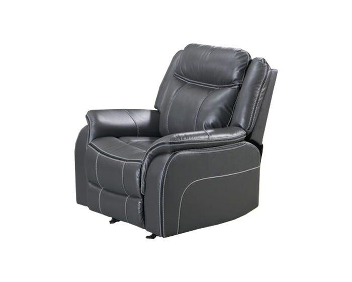 Pleasing Amalfi Home Furniture Leather Gel Reclining Chair In Grey Jr03 Dailytribune Chair Design For Home Dailytribuneorg