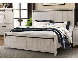 High Society Scott Series Panel Bed in White Oak SC600