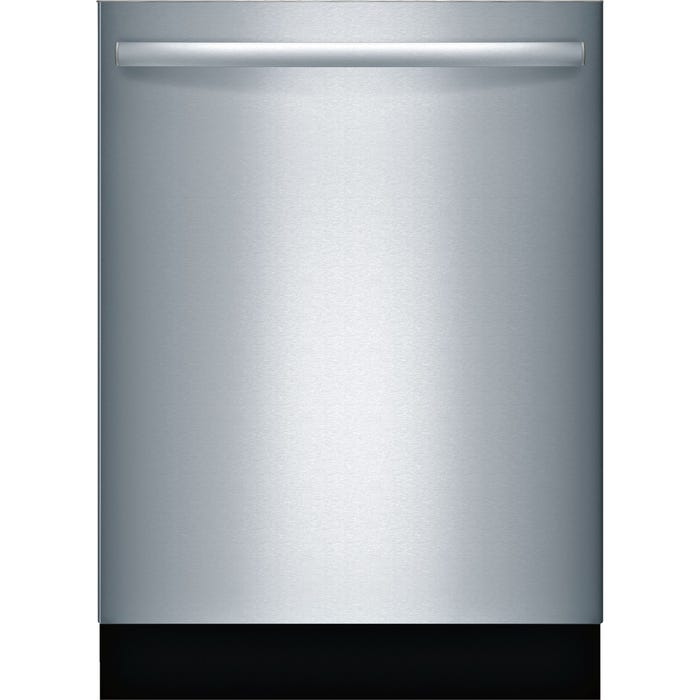 Bosch 24 Inch Bar Handle Special Application Dishwasher in Stainless Steel SGX68U55UC
