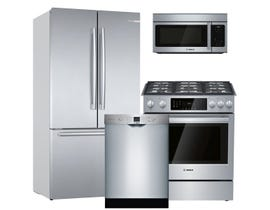 Bosch 3pc Appliance Package in Stainless Steel SHEM3AY55N HGI8056UC B36CT80SNS