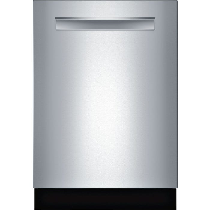 Bosch 24 Inch Pocket Handle Dishwasher in Stainless steel SHP865WD5N