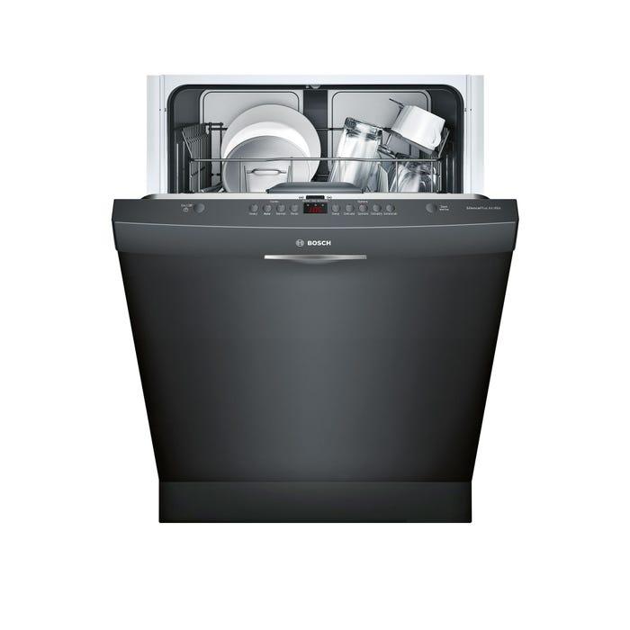 Bosch 24 Inch Scoop Handle Dishwasher in Black SHS63VL6UC