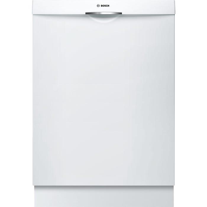 Bosch 24 Inch Handle Dishwasher in White SHS863WD2N