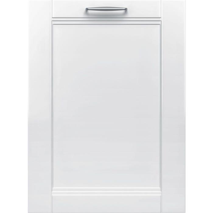 Bosch 24 Inch Panel Ready Dishwasher in White SHVM78W53N